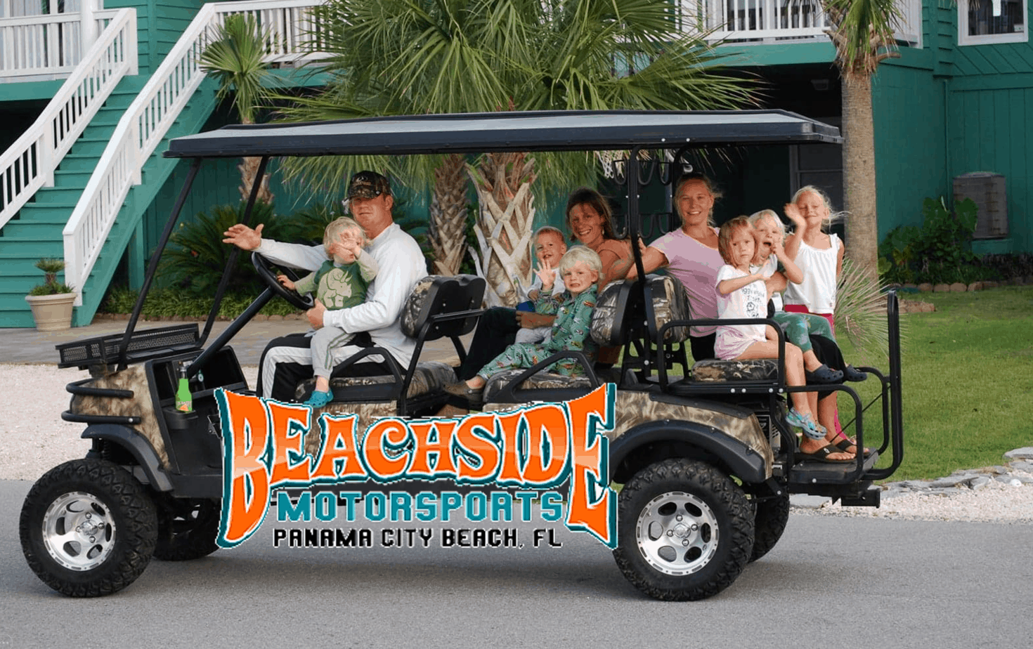 Beachside MotorSports - Panama Ctiy Beach - Golf Cart Rentals - Panama City Beach