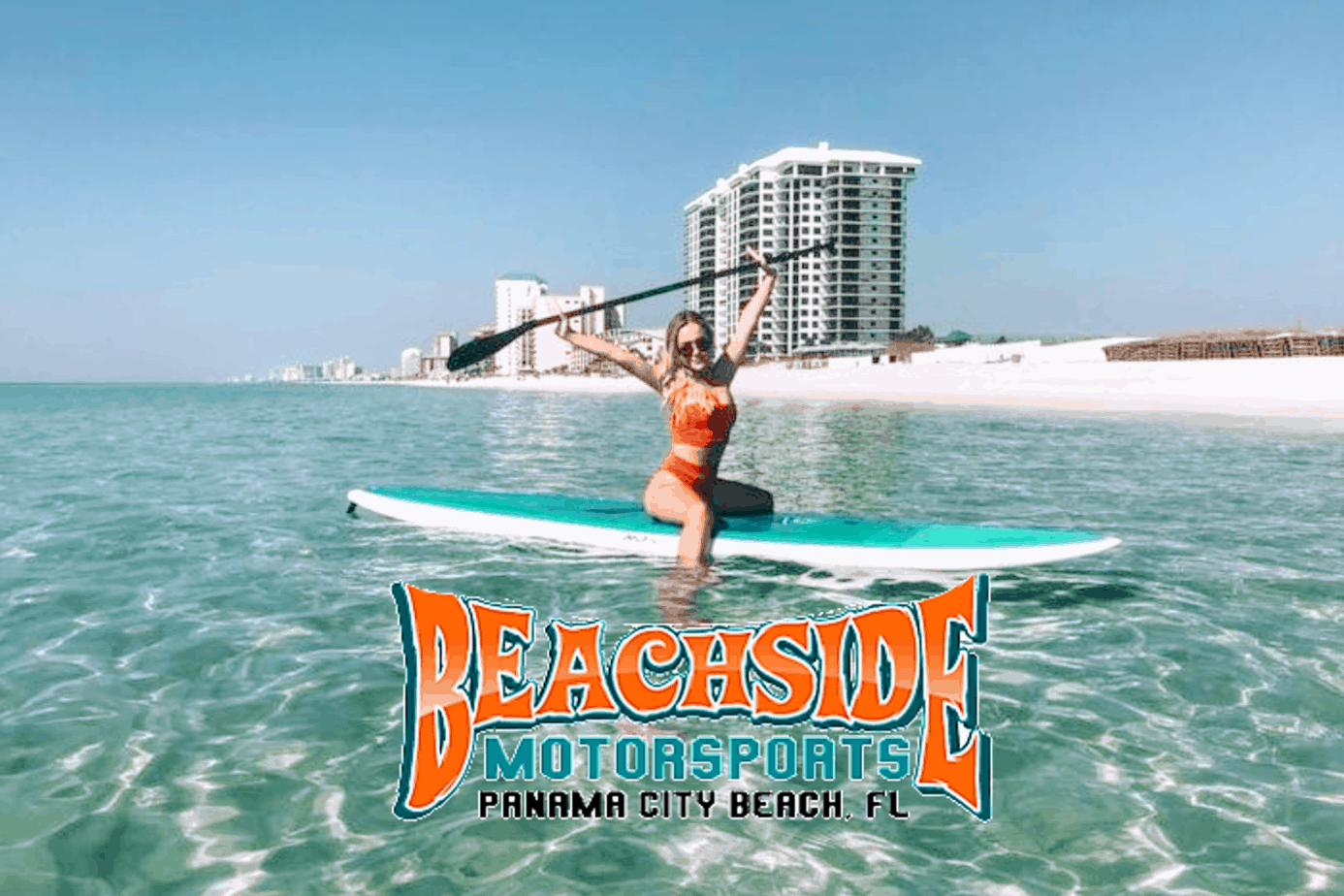 Beachside MotorSports - Panama Ctiy Beach - PaddleBoard Rentals - Main -Header