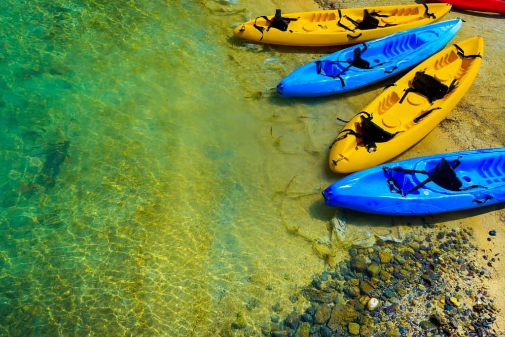 Kayak Rentals in Panama City Beach