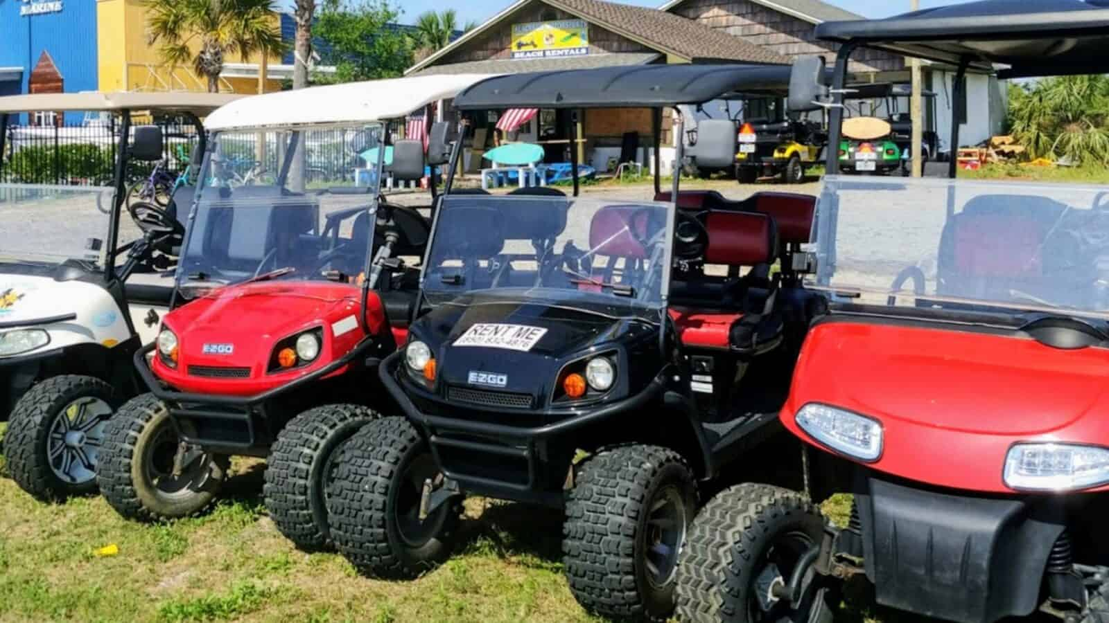 Beachside Motorsports - Panama City Beach Golf Cart Rentals